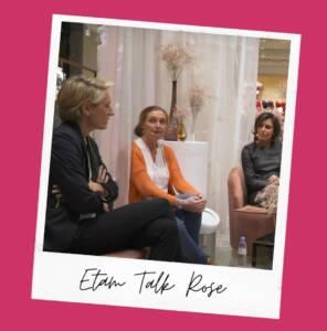 Les Talks Roses d'Etam avec le RKS