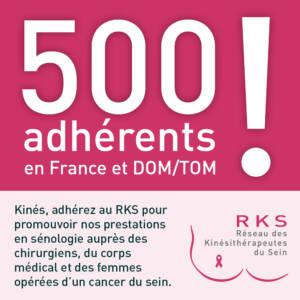 500 adhérents au RKS !!!